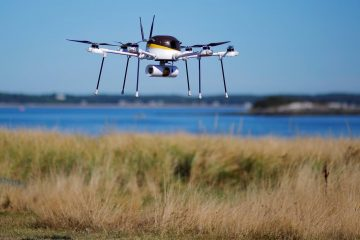 Package-delivery drones