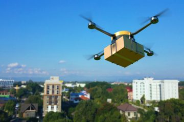 Drone-based package delivery